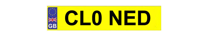 CLONED-NUMBER-PLATE