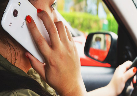 New penalties driving mobile phone