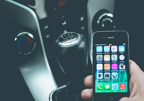 Using mobile phone while driving law