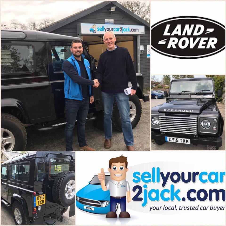 Jack buys Land Rover Defender