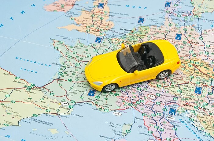 Driving abroad differences
