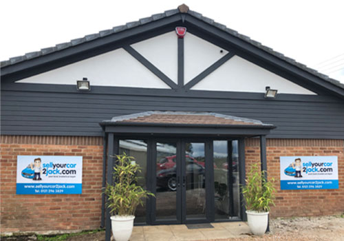 Solihull Sell Your Car 2 Jack flagship branch